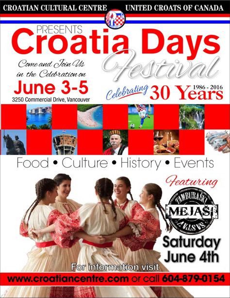 Croatia Days Festival 2016